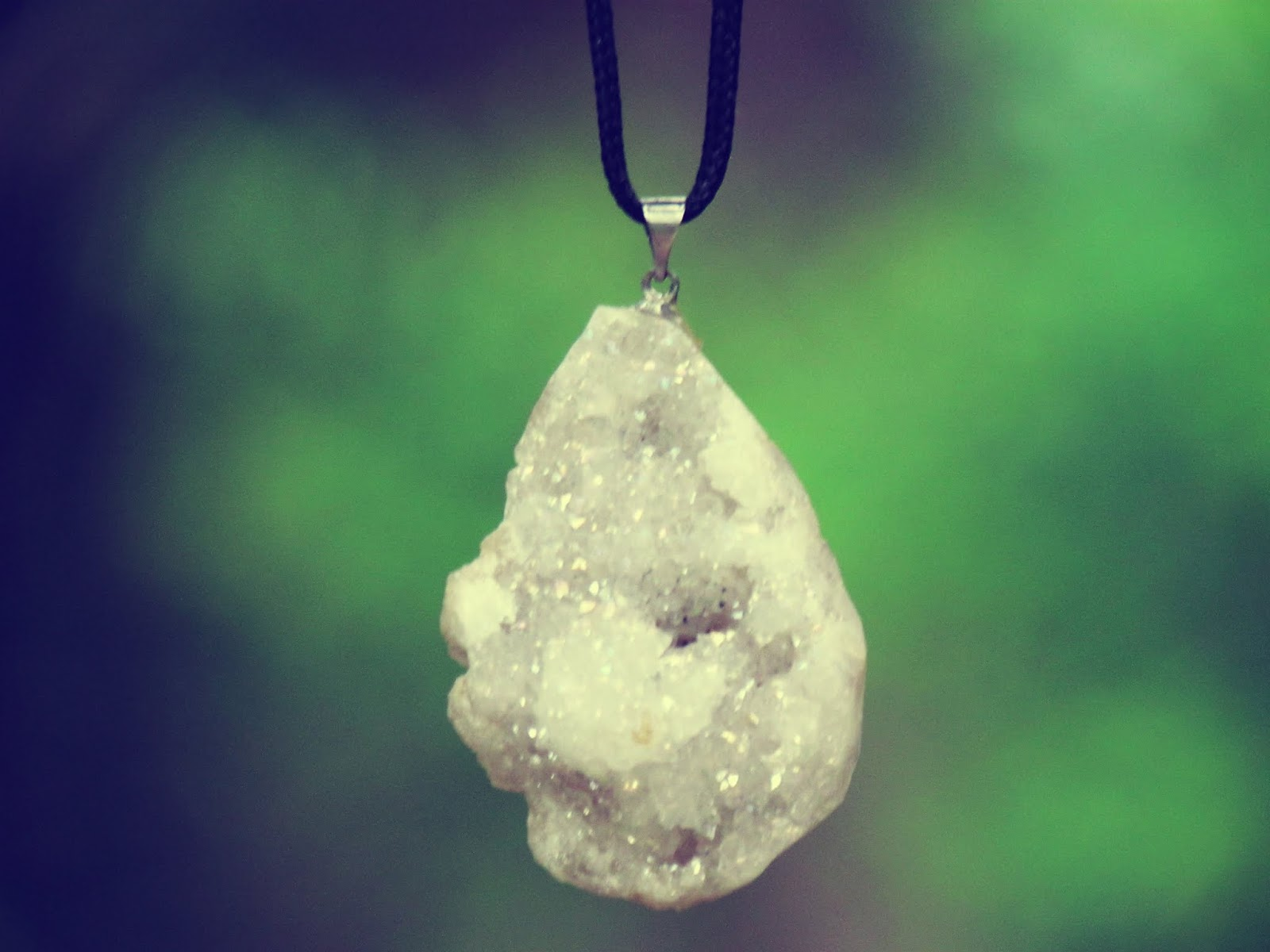 Wearable nature and hiking pretty layered crystal necklaces and bracelets