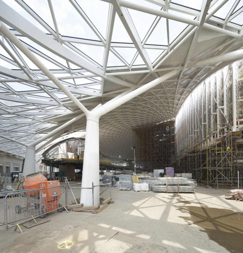 Cameron Anderson Architecture Qut King S Cross Station Canopy