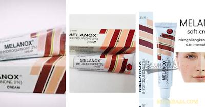 Melanox mampu memutihkan wajah - Produk Perawatan Kulit Wajah Yang Terdaftar  Di BPOM Dan Dapat Di Temui Di APOTEK Anda