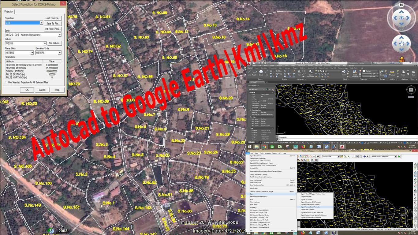 Import kmz to google earth