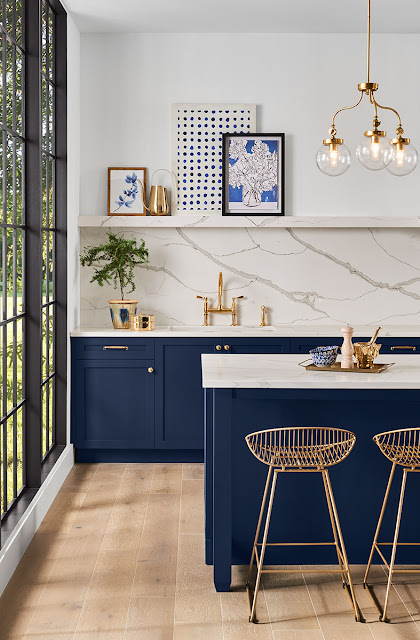 decoração-cozinha-azul