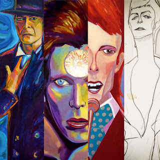 David Bowie portraits by artist Robert Phelps
