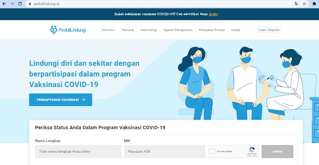 [TUTORIAL] Cetak Sertifikat Vaksinasi Covid-19 Online