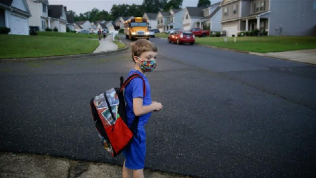 Putting your child on the bus for the first day of school is always a leap of faith for a parent