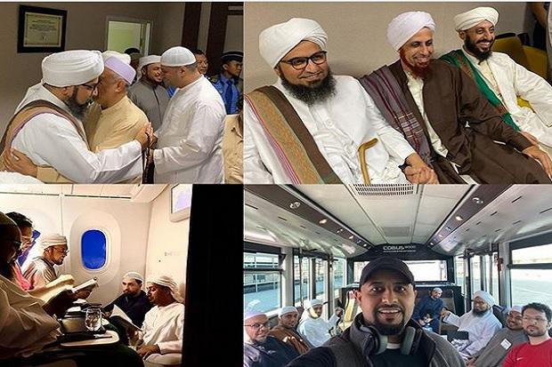 Ulama Kharismatik Habib Ali Al-Jufri Tiba di Indonesia ...