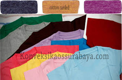 pengertian cotton carded, arti cotton carded, definisi bahan cotton carded