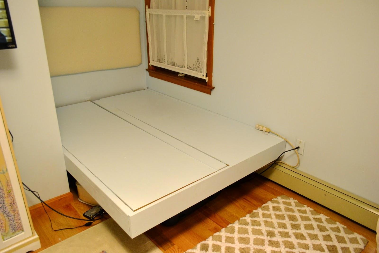 CK and Nate header: DIY Floating Platform Bed