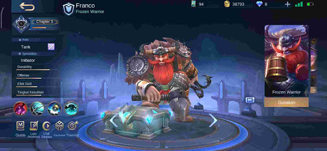 7+ Hero Tank Overpowered (OP) Terbaik Season 16 Mobile Legends 2020