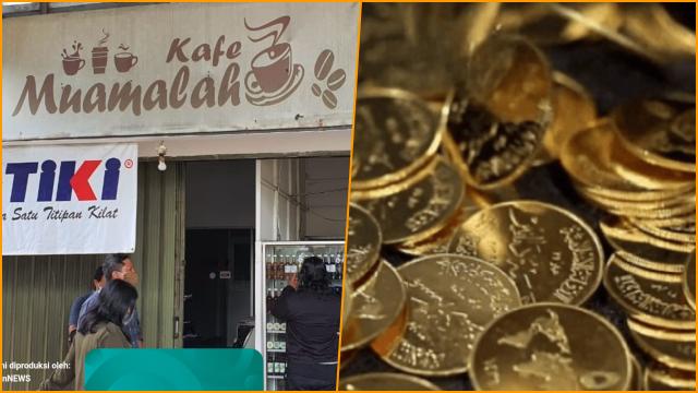 Zaim Saidi Pendiri Pasar Muamalah Ditangkap, Ratusan Koin Dinar-Dirham Disita