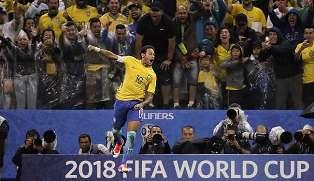 Brasil Tim Pertama Lolos ke Piala Dunia 2018