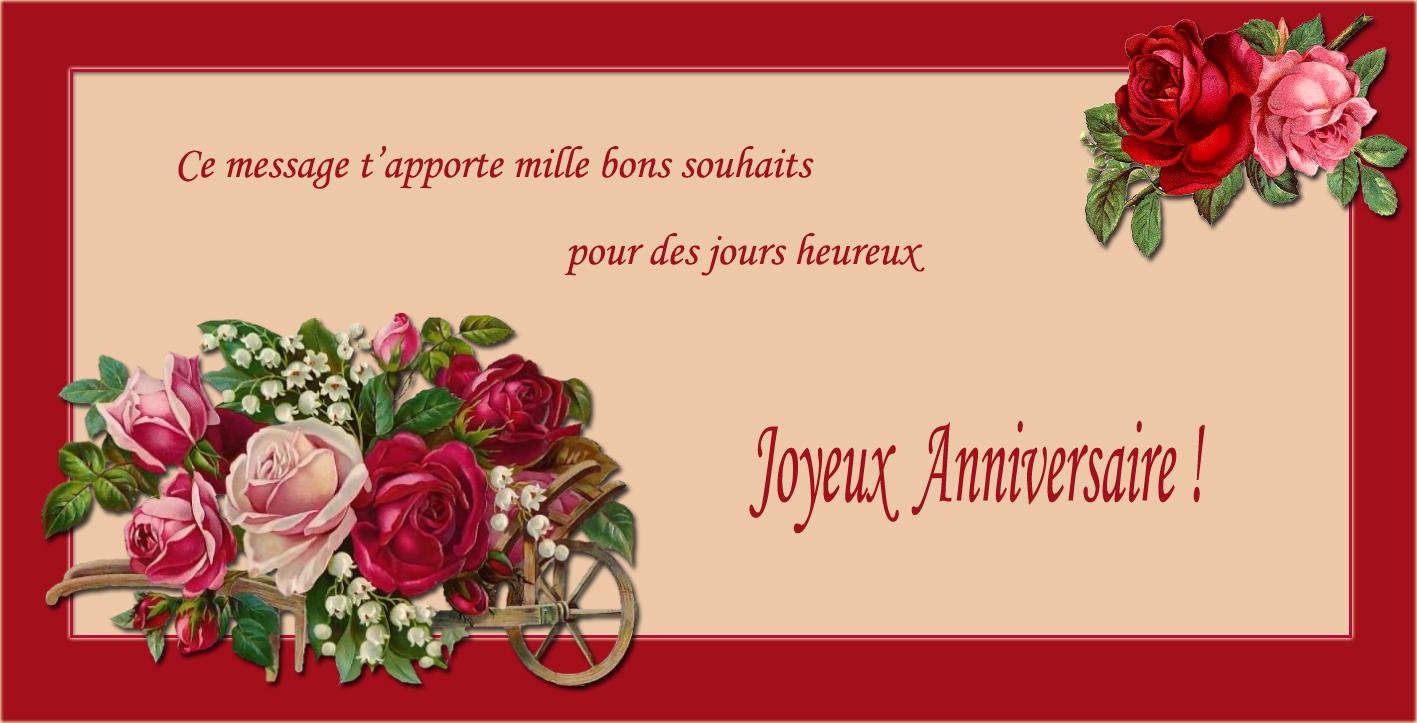 Images Messages Et Photos D Joyeux Anniversaire Pour Feliciter A