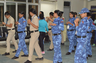 women-police-traning
