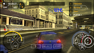 NFS Most Wanted PPSSPP Highly Compressed 50mb