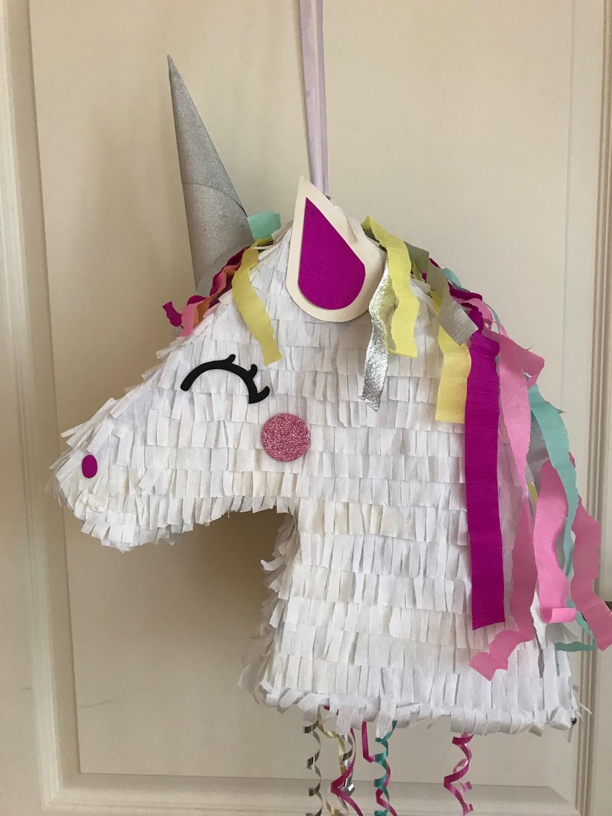 Einhorn Piñata Basteln