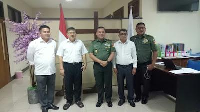 Pangdam XIII/Merdeka Sambangi Kantor Sinode GMIM