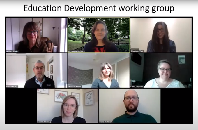 November 2020 meetup: Digital Preservation Education and Training