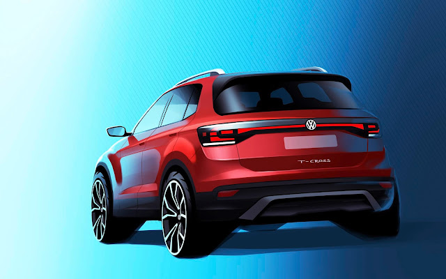 VW divulga teaser do novo T-Cross