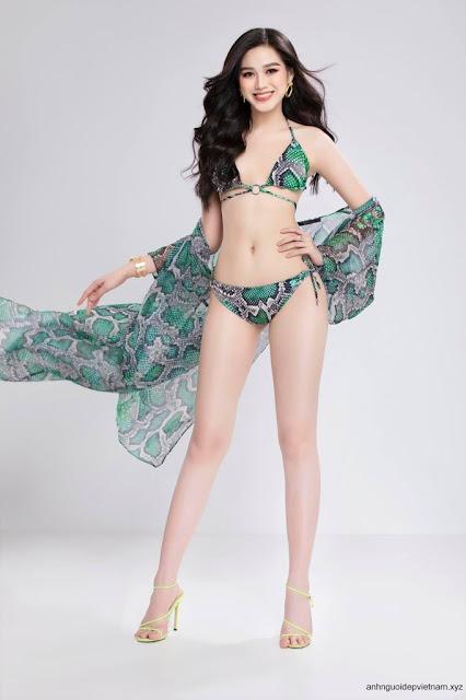 Ảnh Hoa Hậu Việt Việt Nam Đỗ Thị Hà mặc bikini 1