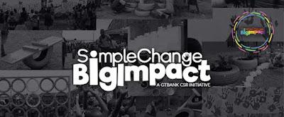 GTBank #SimpleChangeBigImpact Challenge.