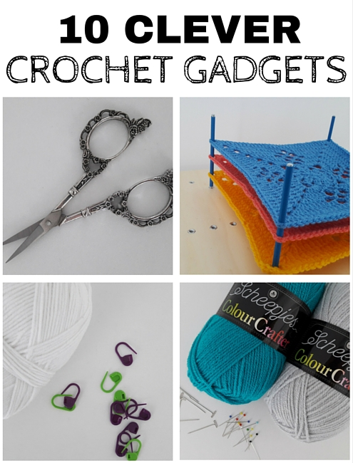 10 clever crochet gadgets every crocheter needs (or wants) | Happy in Red