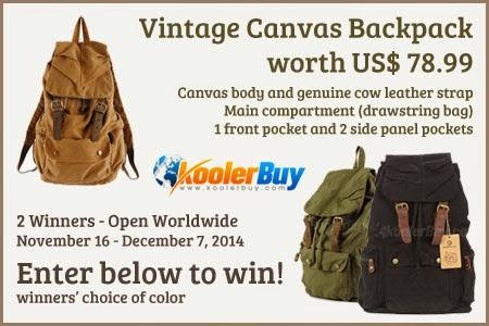 Kool Bag Thank You! Giveaway