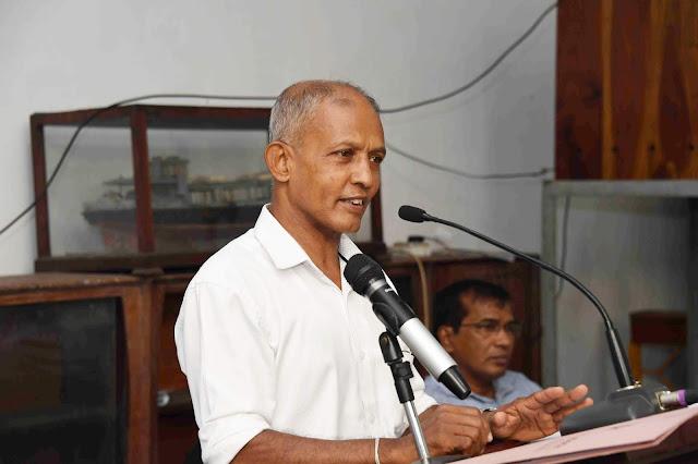 Mr W. A. A. Jayarathne: Marine Cargo & Craft Division