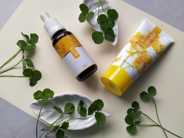 Gynex bioinformačný bylinný koncentrát a Cytovital krém od Energy