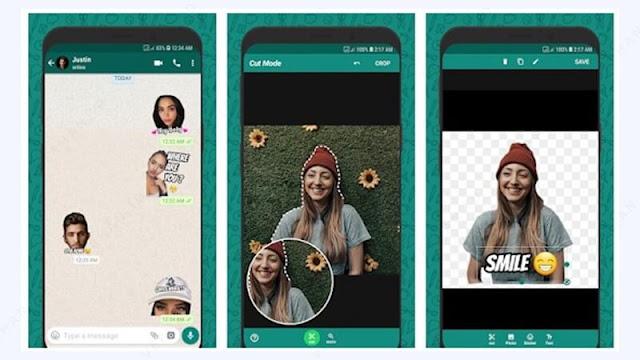 wemoji aplikasi pembuat stiker whatsapp