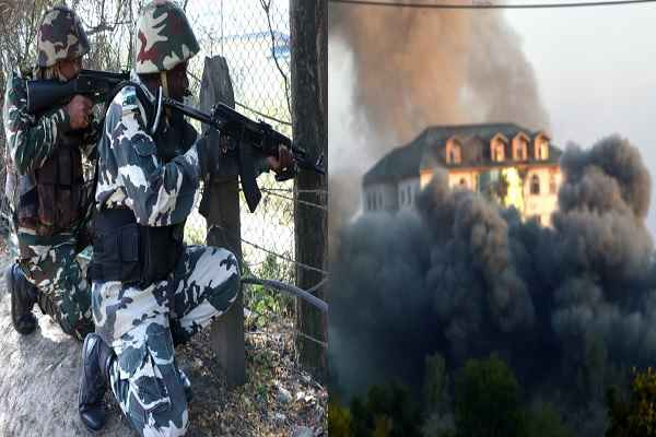 Pampore-latest-news--Operation-resumed-against-with-militants