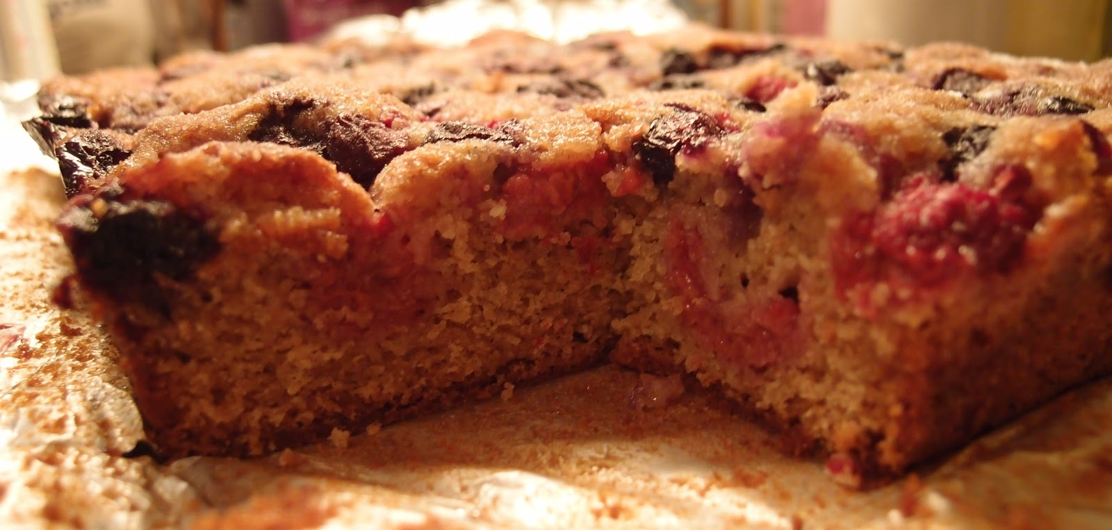 Spelt Cake Recipes Uk: The Caked Crusader: Spelt, Raspberry, Blueberry And Ginger