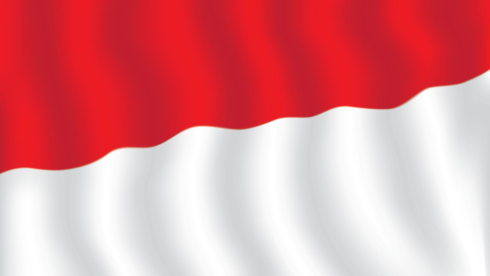 bendera berkibar besar