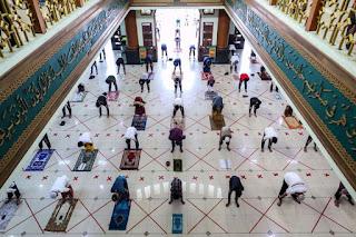 Masyarakat Perlu Taat Prokes Saat Ibadah Ramadhan