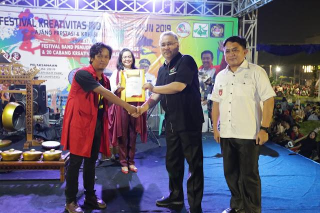 """Gaungkan """"Anak Muda Berjaya"""",  Gubernur Arinal Dukung Penuh Festival Kreativitas Indonesia 2019"""