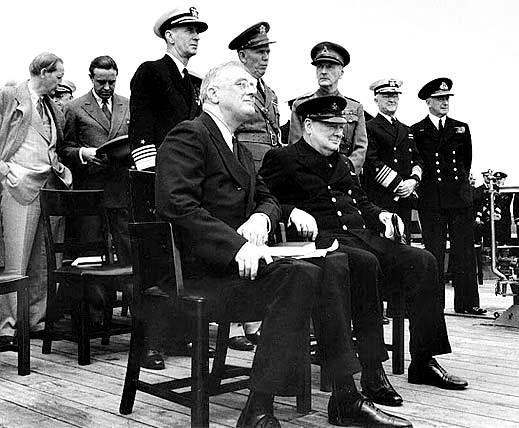 Conferencia de la Carta del Atlántico, agosto de 1941