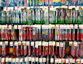 bad toothbrushes in the toothbrush aisle