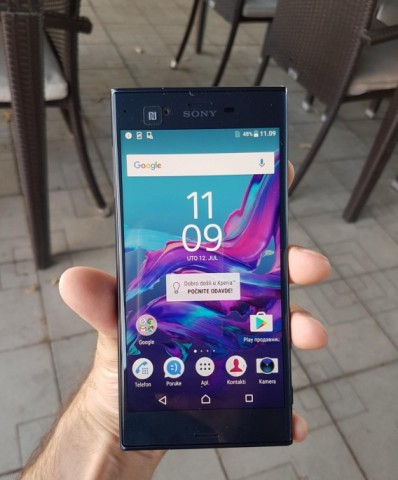 New Sony Xperia Flagship Photographed