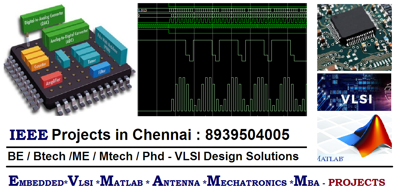 VLSI Projects in chennai - Contact 8939504005