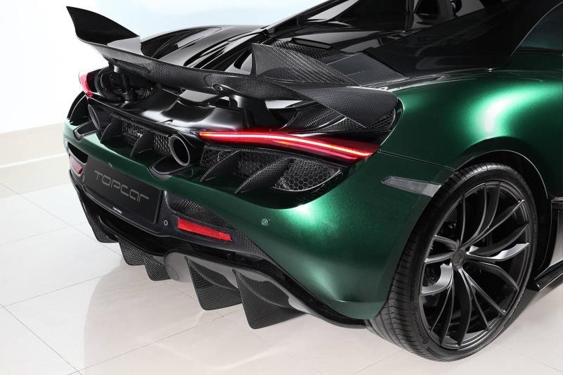 Bản độ McLaren 720S Spider sợi carbon siêu 'chất'