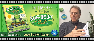 Video of author/illustrator Paul Morton reading from his Bug Belly book