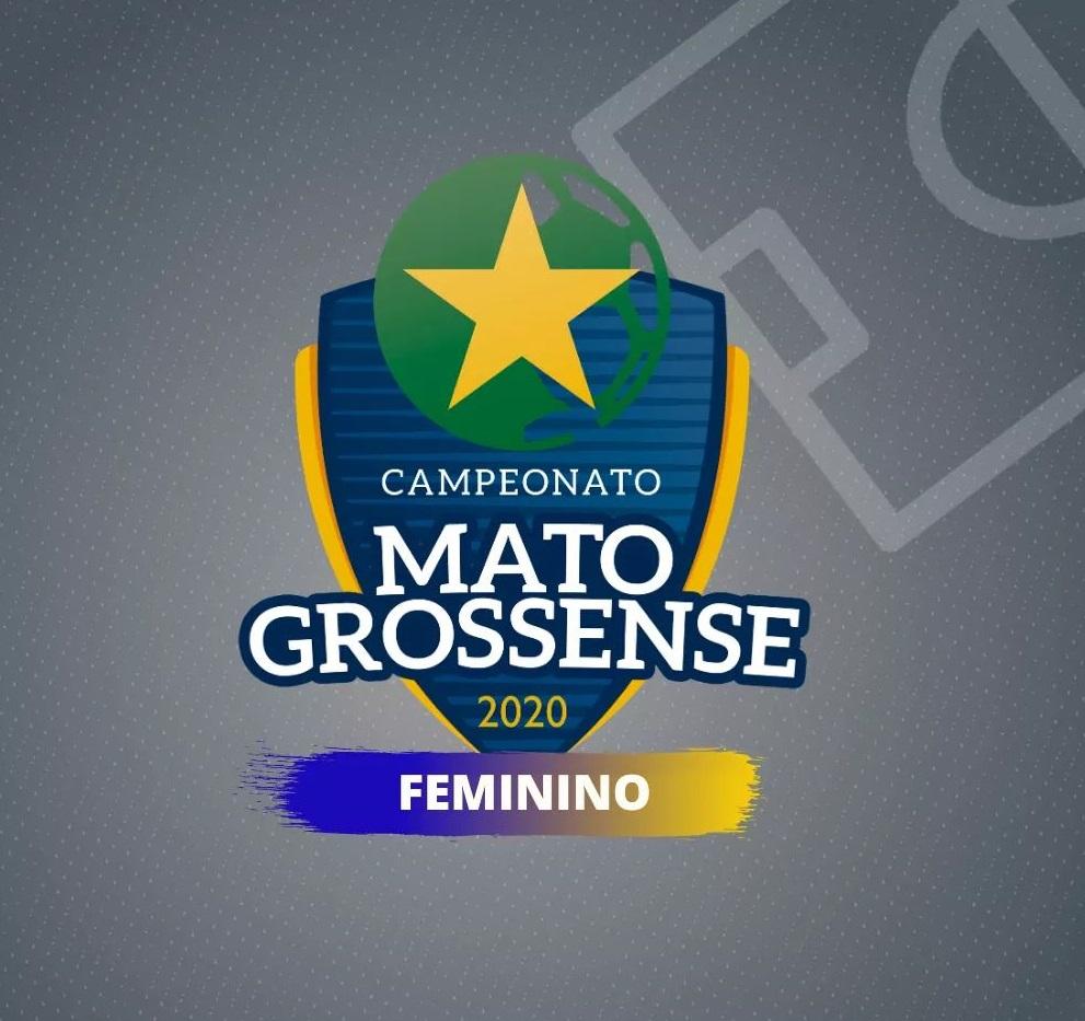 Logomarca oficial do Campeonato Mato-grossense Feminino 2021