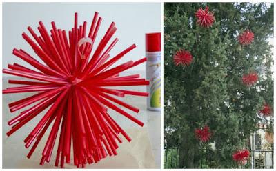 esferas-navideñas-con-popotes