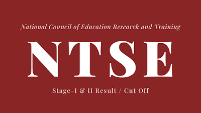 TS ntse result 2021 stage 1 from bse telangana, cut off marks