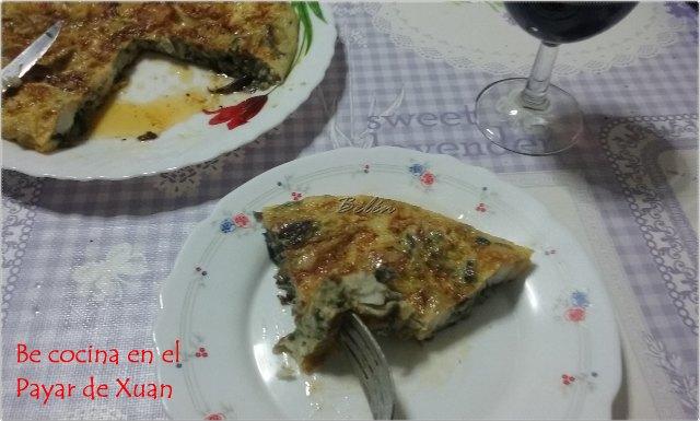 Tortilla De Bacalao Y Gulas