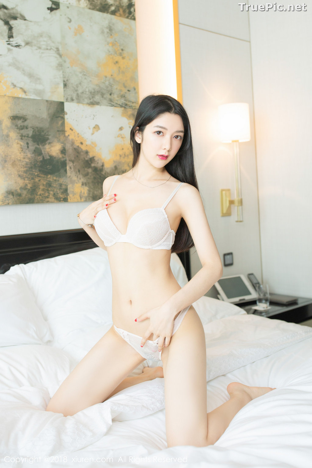 Image XIUREN No.1141 - Chinese Model - Xiao Reba (Angela小热巴) - Sexy Dress Tonight - TruePic.net - Picture-60