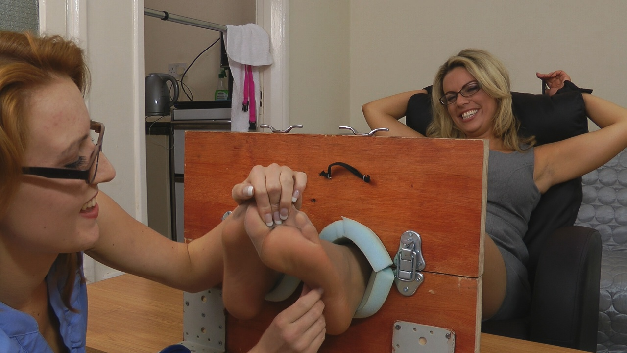26 tickle torture with her master of cathy crown 10