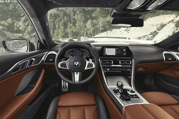 Interior BMW M850i xDrive