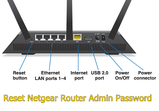 Reset Netgear Router Admin Password