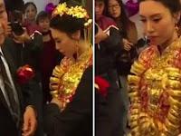 Wanita 20 Tahun Dinikahi Pria 70 Tahun, Lihat Mas Kawinnya