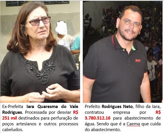 NINA RODRIGUES-MA: Tal mãe, tal filho - o Povo pede Ministério Público Urgente!!