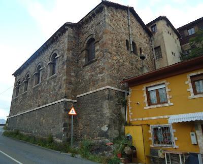 Cabecera y fachada Sur IGLESIA DE SANTA MARÍA MAGDALENA Camino del Salvador